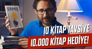 Barış Özcan'dan Hediye 10 bin Kitap!